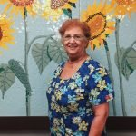Lee DeLucia at the Newtown Senior Center Lounge