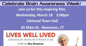 Celebrate Brain Awareness Week @ Edmond Town Hall | Newtown | Connecticut | United States